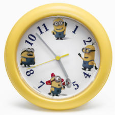 Despicable Me 3 Wanduhr