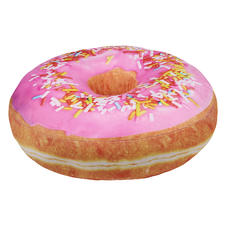 Donut Pillow Pink Glaze and