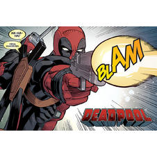 Deadpool Poster BLAM