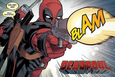 Deadpool Poster BLAM