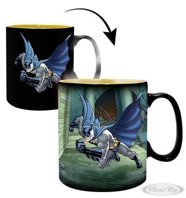 DC Comics XL Thermoeffekt- Tasse Batman & Joker