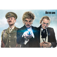 Doctor Who Poster Twice Upon