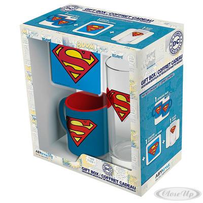 DC Comics Geschenkbox Superman - broschei