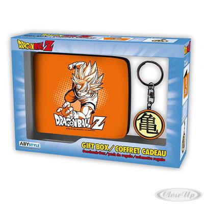 Dragonball Z Geschenkbox Goku Geldbeutel & Keyring - broschei