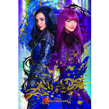 Descendants Poster Evie & Mal