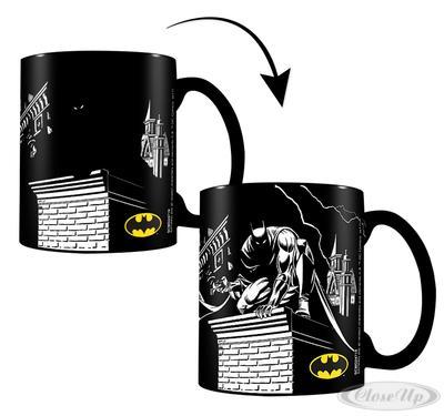 DC Comics Thermoeffekt-Tasse Batman Shadows