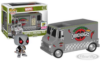 Deadpool Pop! Rides X-Force Chimichanga Truck