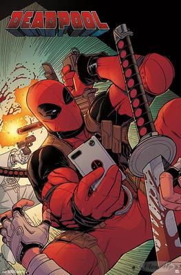 Deadpool Poster Selfie