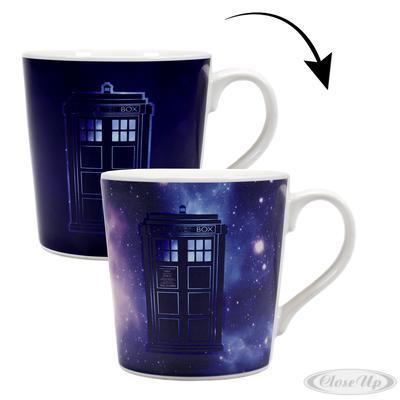 Doctor Who Thermoeffekt-Tasse Galaxy
