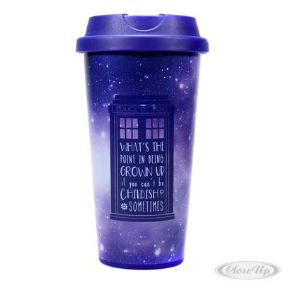 Doctor Who Travel Mug Galaxy