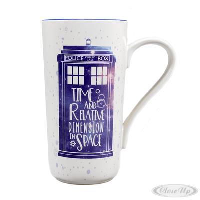 Doctor Who Latte Macchiato Becher Galaxy
