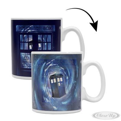 Doctor Who Thermoeffekt-Tasse Tardis
