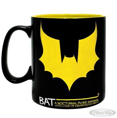 DC Comics XL Tasse BAT/MAN Batman & Fledermaus
