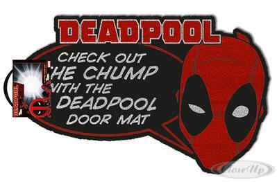 Deadpool Fußmatte Check Out the Chump
