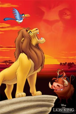 Der König der Löwen Poster King of Pride Rock