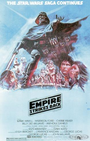Star Wars Poster Empire Strikes back