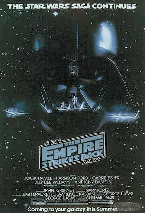 Star Wars Poster The Empire Strikes Back