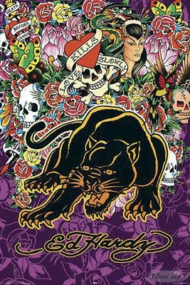 Ed Hardy Poster Panther