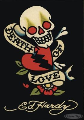 Ed Hardy Death of Love