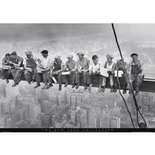Eating Above Manhattan - New -