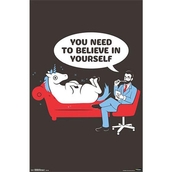 einhorn poster snorg tees unicorn poster gro format jetzt im shop bestellen close up gmbh. Black Bedroom Furniture Sets. Home Design Ideas