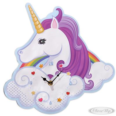 Einhorn Wanduhr ´´Magic Rainbow´´