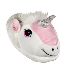 Soft plush slippers - Unicorn