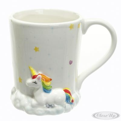 Einhorn Tasse Rainbow Clouds