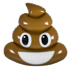 Emoji Pool Float XL Poop