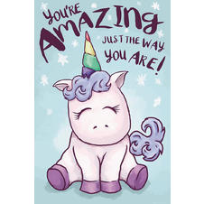 "Einhorn Poster ""YOU'RE AMAZING"