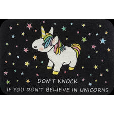 Unicorn Doormat Don't Knock