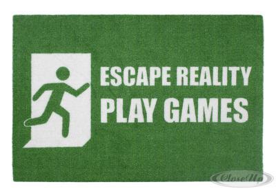 Escape Reality Fußmatte Play Games