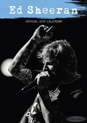 Ed Sheeran Kalender 2019
