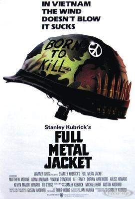 Full Metal Jacket Poster Helmet