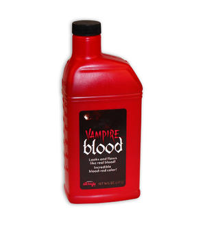 BOTTLE OF FAKE BLOOD