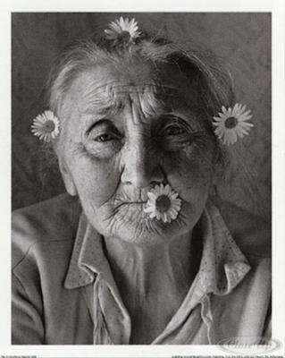 Flower Power Kunstdruck