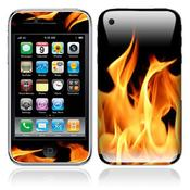 Fire iPhone Sticker 3G