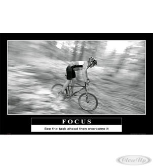 Focus Poster See the task