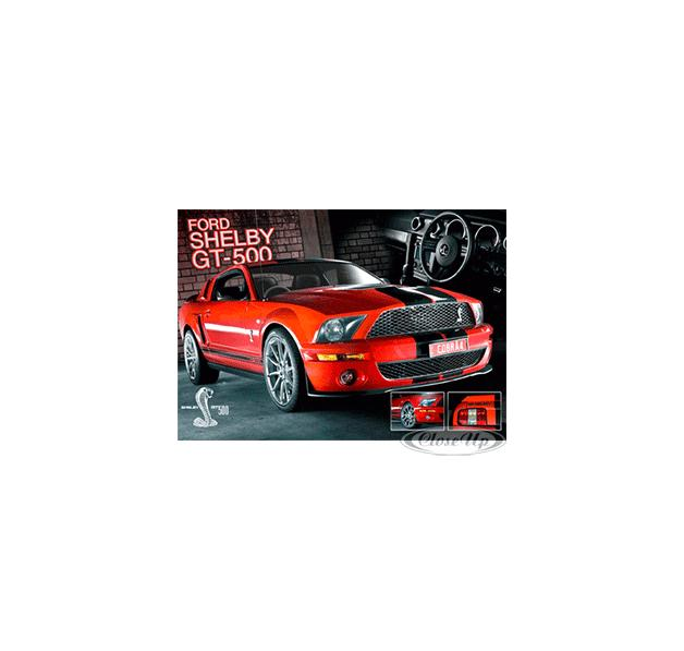Ford Mustang 3D Poster