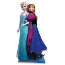 Frozen Cardboard Stand Up Anna &