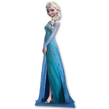 Frozen Cardboard Stand Up Elsa