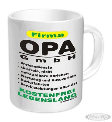 Firma Opa GmbH Tasse