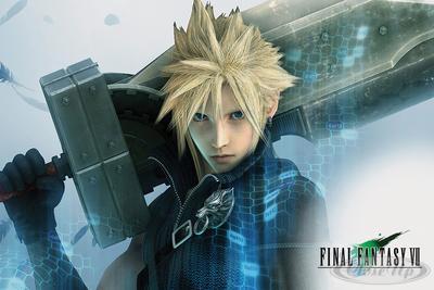 Final Fantasy VII Poster Cloud