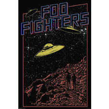 Foo Fighters Ufos Poster