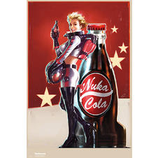 "Fallout 4 ""Nuka Cola girl"" Poster"