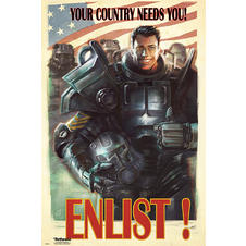 Fallout 4 Poster Enlist!