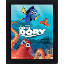 Finding Dory 3D Poster
