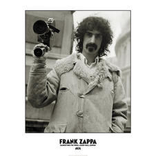 Frank Zappa Poster - Banned from The Royal Albert Hall