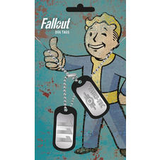 Fallout Dog Tags -