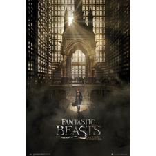 Fantastic Beast and Where to find them Poster -